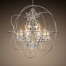 foucaults orb chandelier orb crystal chandelier from restoration hardware foucaults orb chandelier 60 foucaults orb chandelier