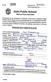 Letter Format Requesting Transfer Certificate School Save Letter