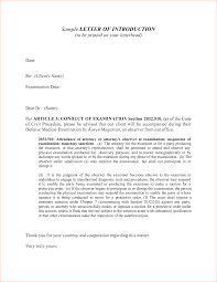 Cover Letter Introduction Samples Adriangatton Com