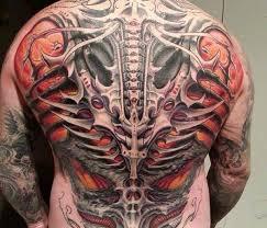 Erfinder Biomechanik Tattoos