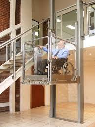 This Home Elevator Can Fit A Wheelchair Too ELEVATORS And LIFTS - Exterior wheelchair lifts