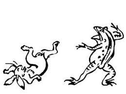鳥獣戯画かわいいイラスト画像集 Naver まとめ
