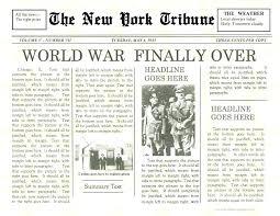 Where Can I Find A Newspaper Template Old Newspaper Template Microsoft Word Kaleidoscop Info