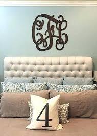 monogram wall decor wood monogram wall hanging inch wooden monogram letters vine room decor nursery monogram wall decor