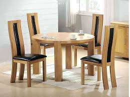 solid round dining table oak extending and 6 chairs wood solid wood dining table for