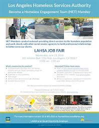 Fedex Jobs Impressive LAEWDD On Twitter LAHSA JOB FAIR LAHomeless June 48 Become A