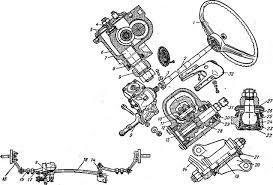 Реферат Рулевое управление и тормозная система автомобиля  Рулевое управление автомобиля Жигули ВАЗ 2101