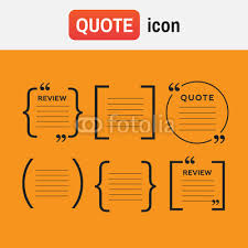 Brackets In Quotes Impressive Bracket Quote Icons Quotes And Brackets Speech Bubbles Buy Photos