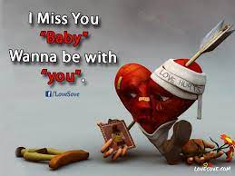 i miss you baby 2 line miss you