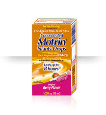 Motrin Dosage Charts For Infants And Children