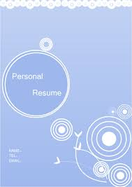 Resume Cover Template New Personal Resume Cover Free Personal Resume Cover Templates