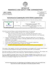 insurance commissioner complaint ga diminished value car