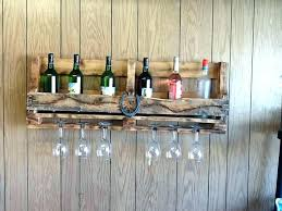 pallet wall wine rack. Wine Racks Rack Made From Wooden Pallets Wall Mounted Pallet With For Sale .