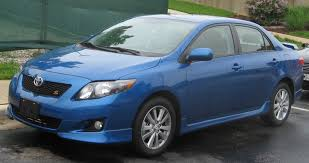File:2009 Toyota Corolla S 1.jpg - Wikimedia Commons