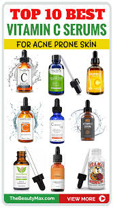 Vitamin C Comparison Chart Best Vitamin C Serums For Acne Prone Skin Reviewed Top 5