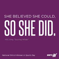 Nike Quotes Delectable National Girls And Women In Sports Day Infinity Sports And
