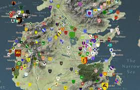 interactive map of game of thrones  boing boing