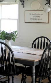 Black Farmhouse Kitchen Table