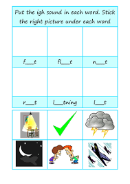 Ks1 english phase 3 phonics learning resources for adults, children, parents and teachers. Phonics Worksheet Igh Teaching Resources