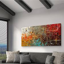 carmen guedez x27 safe and sound x27 canvas wall  on canvas wall art overstock with shop carmen guedez safe and sound canvas wall art 24 x 48 free