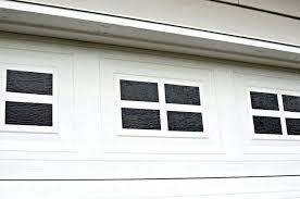 garage window easy faux garage door windows garage window glass repair