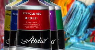 Atelier Acrylic Colour Chart Atelier Acrylic