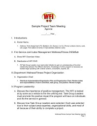 Meeting Template Project Meeting Agenda Template Project Meeting