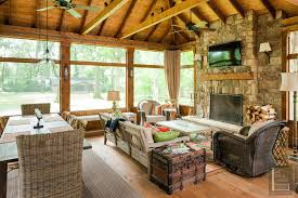screened in porch fireplace screened in porch with fireplace screened porch fireplace cost