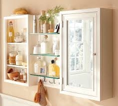 Double Mirrored Bathroom Cabinet Bathroom Wall Cabinet With Mirrored Door And Shelves