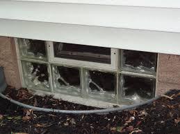glass block vented basement windows for improved ventilation