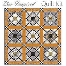 Bee Inspired Quilt Kit Moda **LAST ONE** | Fort Worth Fabric Studio & Bee Inspired Quilt Kit Moda **LAST ONE** Adamdwight.com