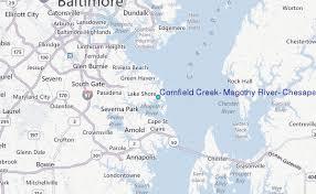 Cornfield Creek Magothy River Chesapeake Bay Maryland