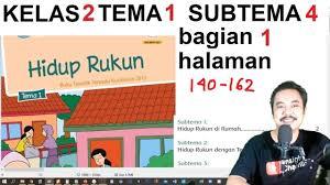 Kunci jawaban buku tematik tema 4 kelas 5 halaman 34, 37 … Tema 1 Kelas 2 Sub Tema 4 Hal 140 162 Hidup Rukun Hidup Rukun Di Masyarakat Bag Youtube