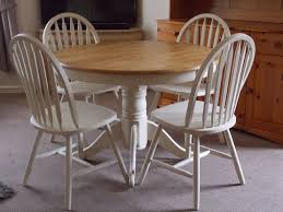 fabulous shabby chic round kitchen table also top dining and chairs home decor ideas uk of pictures