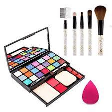 Adbeni <b>21</b> Color of Eyeshades <b>Makeup</b> Kit With 5 <b>PCs</b> of <b>Brushes</b> ...
