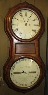 630 seth thomas clock co plymouth hollow office calendar no 1 regulator circa 1870 rosewood veneer case in superb condition