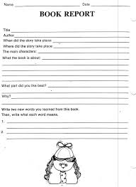 Book Report Template Grade 2 Impressive 48 Images Of 48th Grade State Report Template Leseriail