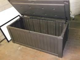 costco outdoor storage cabinet bench costco outdoor storage bench keter gallon deck box rockwood