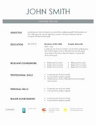 Intern Resume Examples Classy R Sample Resume New Puter Science Internship Resume Sample Resume