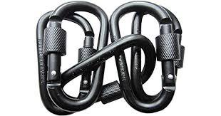 LeBeila <b>5 PCS Carabiner</b> Climbing D Ring Keychain with <b>Clip</b> ...