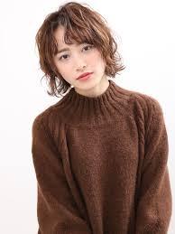 ひし形シルエットボブ美容室バズヘアーbuzzhair 髪型前髪