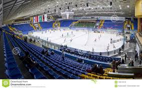 Ice Palace Seating Chart Palace Of Sports In Kyiv During Ice Hockey Game Editorial