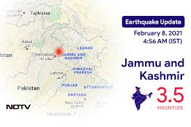 A shallow earthquake near mirpur has struck northeastern pakistan, tearing huge cracks in roads. Hck5f1mxjv1q M