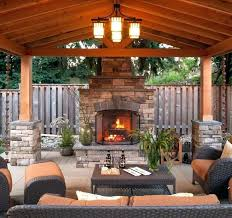 outdoor fireplace cover fireplaces covers covered patio ideas for backyard deck outdoor fireplace