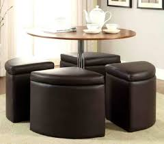 coffee table com regency chloe inch round with ottoman seating underneath furniture chairs underneathats formidable picture