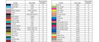 Jerzees Color Chart The Best Colors For Discharge Printing