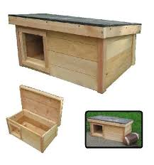outdoor cat house plans. Ark Workshop Medium Outdoor Cat House Wood Shelter Home Ferals Strays Pets - LS SQ Plans