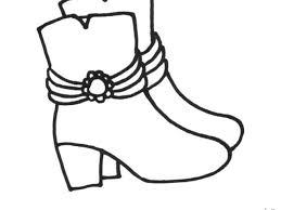Da Bambini Con Scarpa Scarpetta Donna Colorare Di Disegno Per Zpqsmuvg