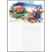 Sunday School Attendance Chart Printable Www