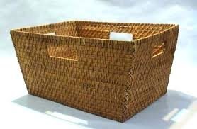 extra large wicker baskets. Delighful Large Storage Wicker Baskets Rattan Basket Large Extra Plastic  Bins Lined White  Inside Extra Large Wicker Baskets K